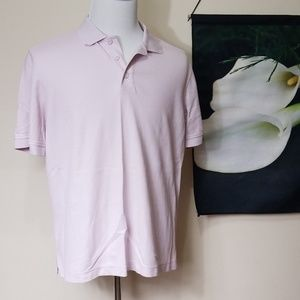 Men's Button Neck Collared Polo